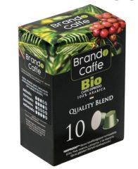 Nespresso kompatibilis Caffe Brando Bio Caffe