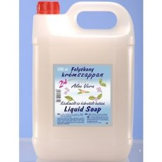 Folyékony krémszappan 5l aloe vera