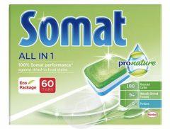 Somat All in One Green/Pro Nature mosogatógép kapszula 60db
