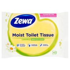 Zewa nedves wc papír kamilla / wc-n lehúzható 42db/cs