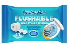 Nedves WC papír ( WC-n lehúzható) 40 db / cs